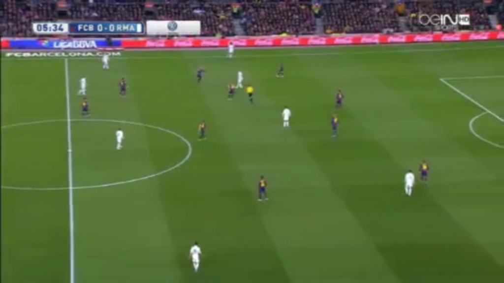 Benzema having a more present role in wide combinations.