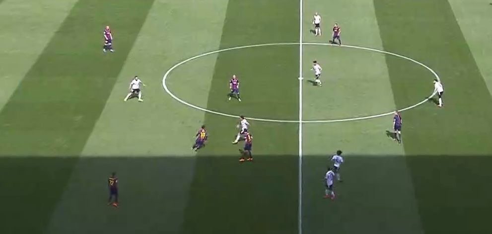 Messi dropping combos