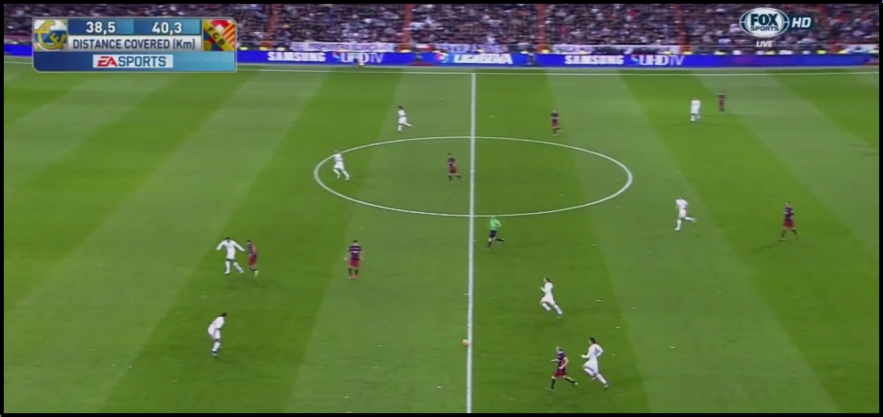 Madrid were far too uncompact out of possession.