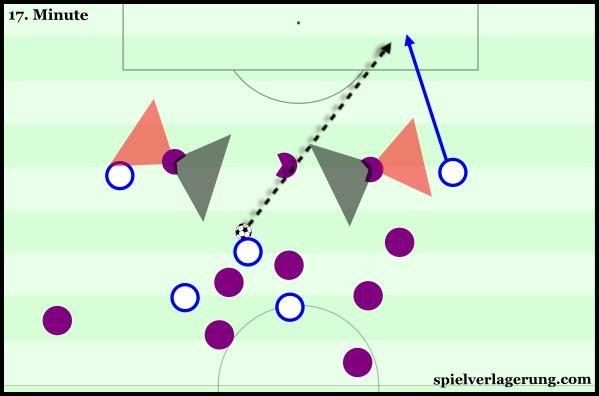 Empoli's opening goal